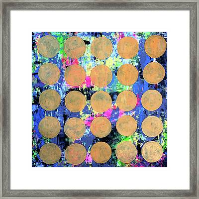 Bubble Wrap Print Poster Huge Colorful Pop Art Abstract Robert R Framed Print