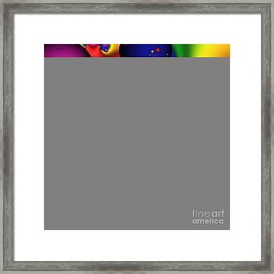 Bubblegum 140 Framed Print by Rolf Bertram