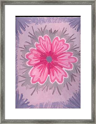 Bubblegum Framed Print by Laura Lillo