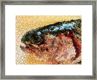 Bubbles Framed Print by Carol Grimes