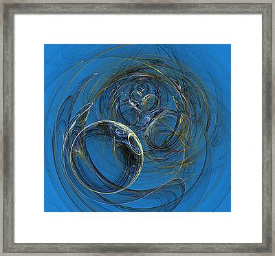 Bubbles H2o Framed Print