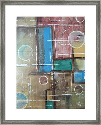 Bubbles In The Air Framed Print