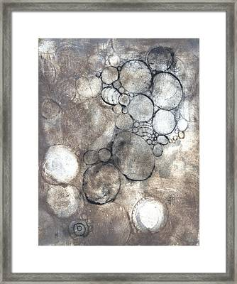 Bubbles Framed Print by Rockstar Artworks