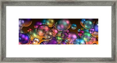 Bubbles Overall Framed Print