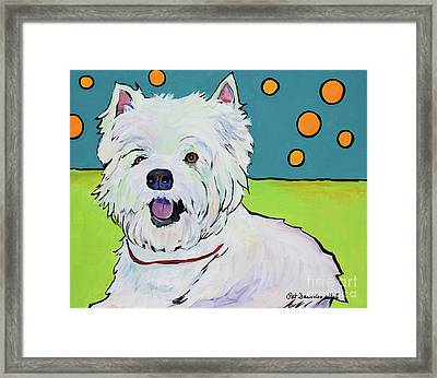 Bubbles Framed Print by Pat Saunders-White