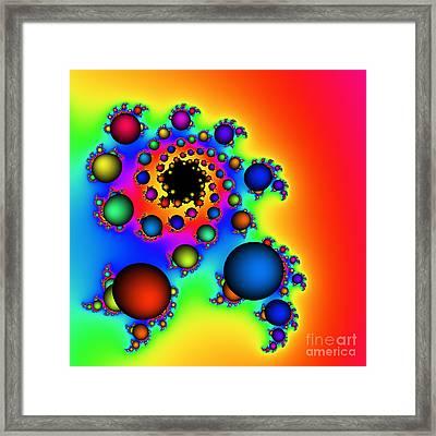 Bubbles Three Framed Print by Rolf Bertram