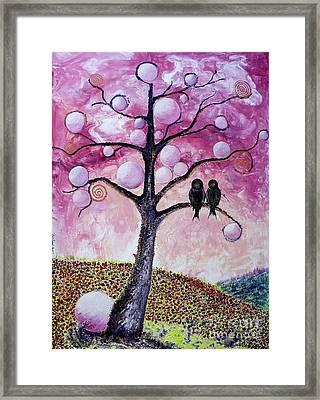 Bubbletree Framed Print