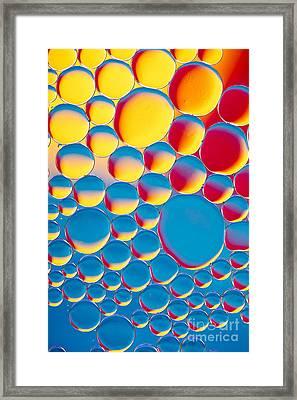 Bubblicious Framed Print