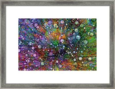 Bubblie Framed Print by Jack Zulli