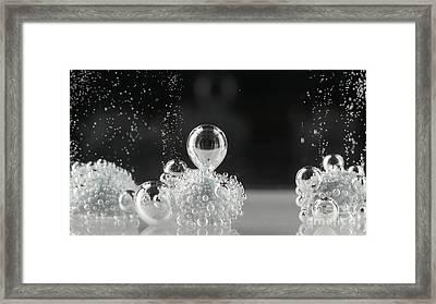 Bubbling Framed Print