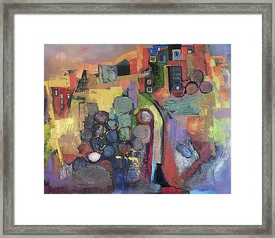 Bubbling Up Framed Print