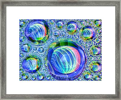 Bubbly Framed Print by Andreas Thust