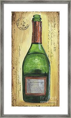 Bubbly Champagne 3 Framed Print