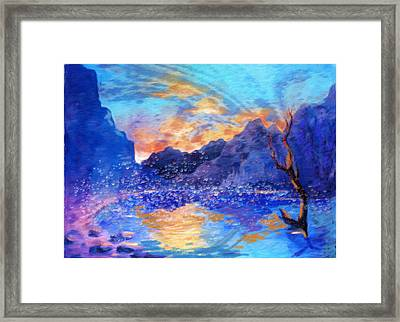 Bubbly Happy Morning Framed Print by Angela A Stanton