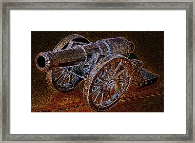 Bucanero Canon Framed Print by David A Brown