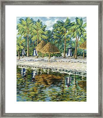 Buccaneer Island Framed Print by Danielle  Perry