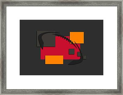 Buccaneers Abstract Shirt Framed Print by Joe Hamilton