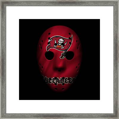 Buccaneers War Mask 3 Framed Print by Joe Hamilton