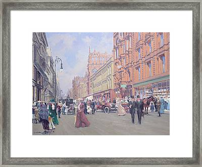 Buchanan Street Framed Print