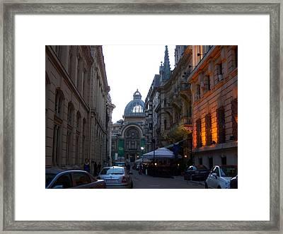 Bucharest 2 Framed Print