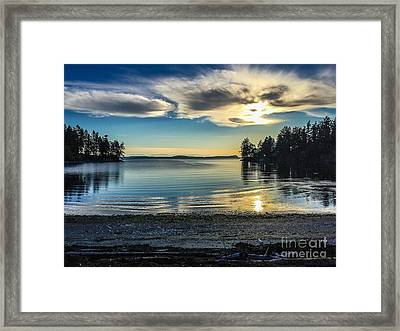 Buck Bay Framed Print