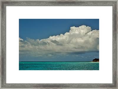 Heaven And Earth Framed Print