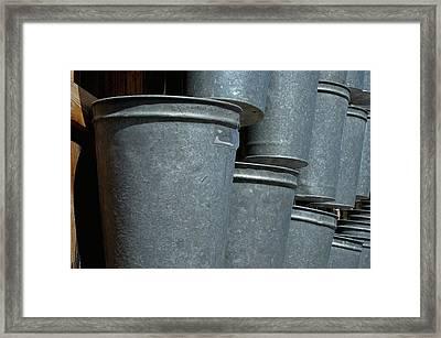 Bucket List Framed Print