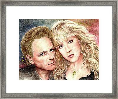 Buckingham Nicks Framed Print by Johanna Pieterman
