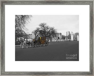 Buckingham Palace Framed Print by Al Bourassa