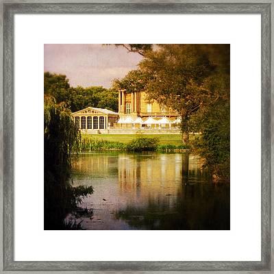 Buckingham Palace Back Yard Framed Print by Heidi Hermes