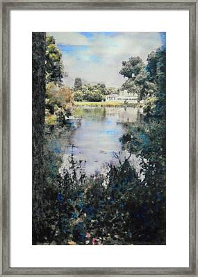 Buckingham Palace Garden - No One Framed Print by Richard James Digance
