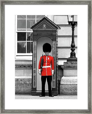 Buckingham Palace Framed Print by Graham Taylor