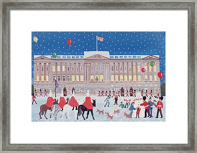 Buckingham Palace Framed Print by Judy Joel