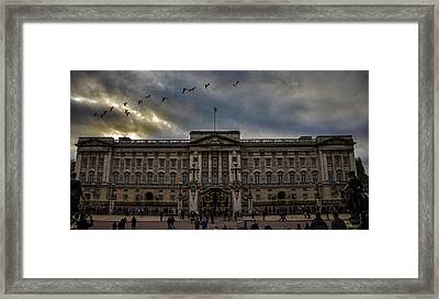 Buckingham Palace Framed Print by Martin Newman