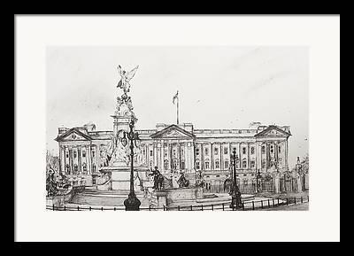 Family Buckingham Palace Framed Prints