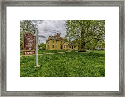 Buckman Tavern Framed Print by Brian MacLean