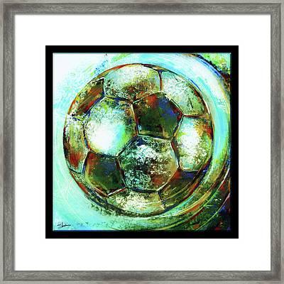 Buckminster Framed Print by Shevon Johnson