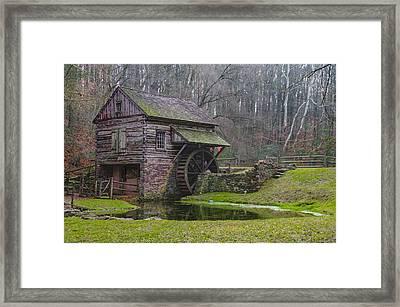 Bucks County - Cuttalossa Mill  Framed Print by Bill Cannon