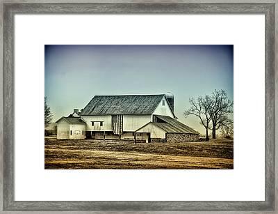 Bucks County Farm Framed Print by Bill Cannon
