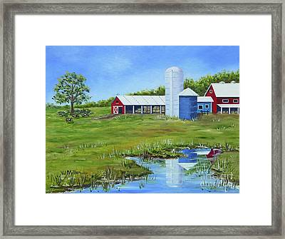 Bucks County Farm Framed Print