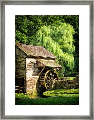 Bucks County Mill Framed Print