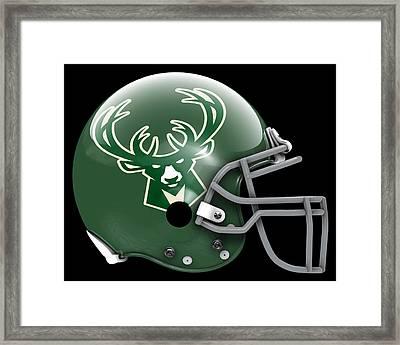 Bucks What If Its Football Framed Print by Joe Hamilton