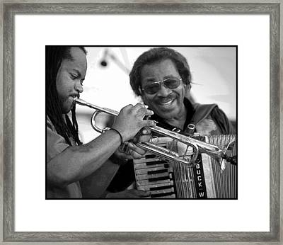 Buckwheat Zydeco Framed Print by Jim Mathis