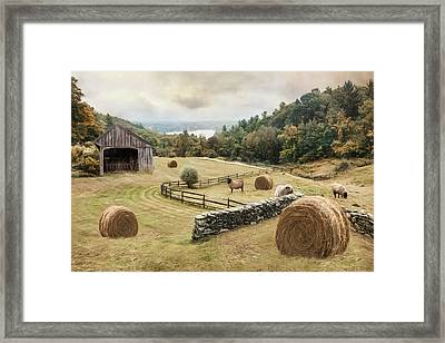 Bucolic Framed Print by Robin-Lee Vieira