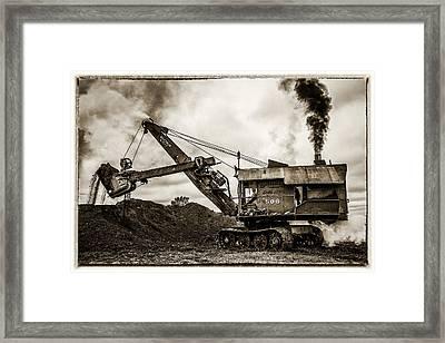 Bucyrus Erie Shovel Framed Print