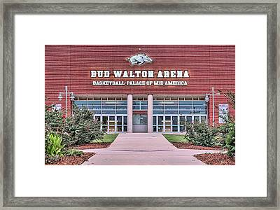 Bud Walton Arena Framed Print by JC Findley