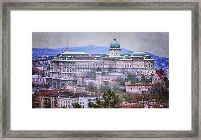 Buda Castle From Gellert Hill Framed Print