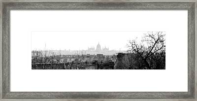 Budapest - A Different View Framed Print