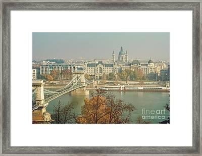 Budapest, Hungary Framed Print