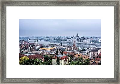 Budapest The Hidden Treasure Chest Framed Print